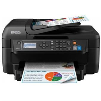 Impresora Multifunción Epson Workforce Wf-2750dwf Wifi Fax