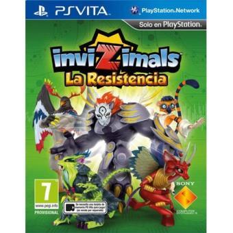 Invizimals: La Resistencia PS Vita