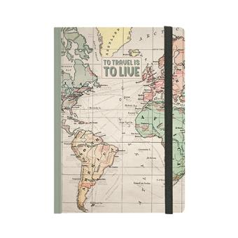 Cuaderno Legami A5 Travel