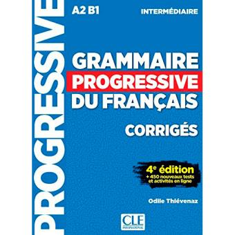 Grammaire progressive interm corrig
