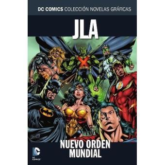 Colección Novelas Gráficas núm. 52: JLA: Nuevo orden mundial