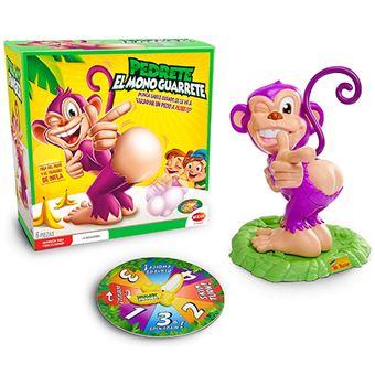 Pedrete el mono guarrete Bizak