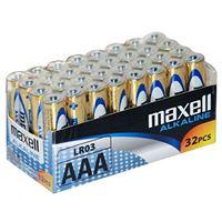 Pack de 32 pilas AAA Maxell LR03
