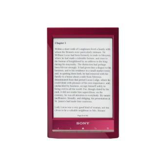 Sony Reader Wi-Fi Rojo (PRODUCTO REACONDICIONADO)