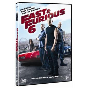 A todo gas 6 (Fast and Furious) - DVD