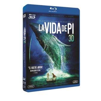 La vida de Pi - Blu-Ray + 3D