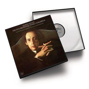 Box Set Beethoven - The Five Piano Concertos - 5 vinilos