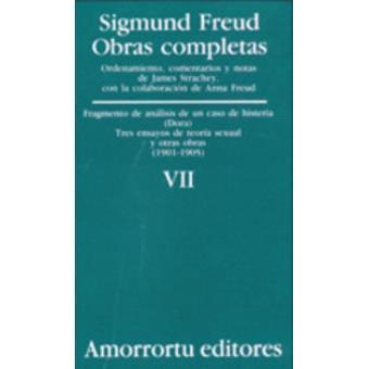 omo VII Fragmentos de Analisis de Un Caso de Histeria