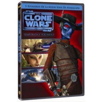 The Clone Wars - Temporada 4 - Volumen 3 - DVD