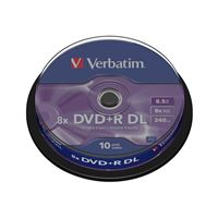 Verbatim DVD+R DL 8 X 10 Uds.