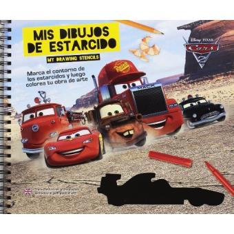 Cars 3. Mis dibujos de estarcido