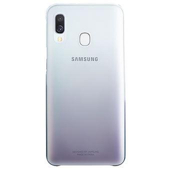 Funda Samsung Gradation Cover Negro para Galaxy A40