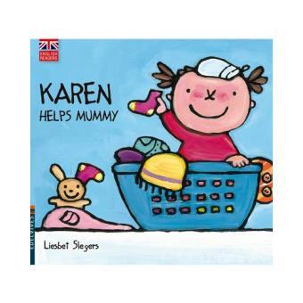 Karen helps mummy