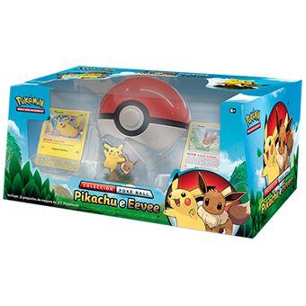 Colección Poké Ball Pikachu e Eevee