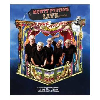 Pack Monty Python: One Down Five to Go - Blu-Ray + DVD + 2 CD´s