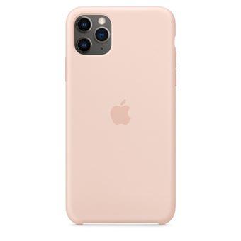 Funda de silicona Apple Rosa arena para iPhone 11 Pro