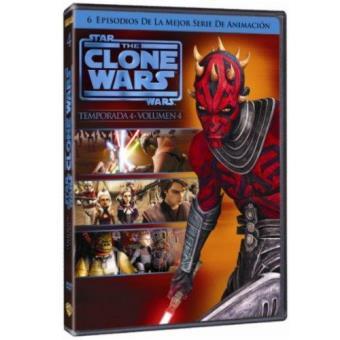The Clone Wars - Temporada 4 - Volumen 4 - DVD