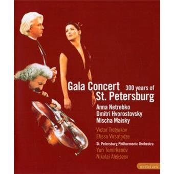 Gala Concierto 300 años de San Petersburgo (Formato Blu-Ray)