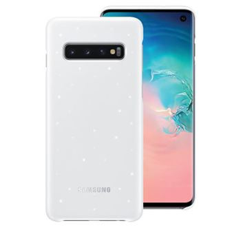 Funda Samsung LED Cover para Galaxy S10 Blanco