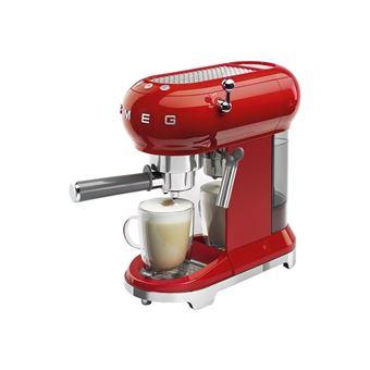Cafetera Expresso SMEG Años 50 ECF01RDEU Rojo