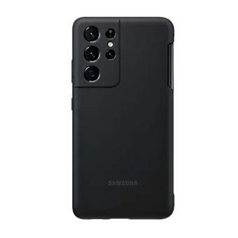 Funda de silicona Samsung S Pen Cover Negro para Galaxy S21 Ultra