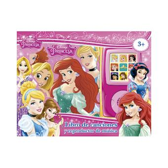Princesas. Libro de canciones y reproductor de música