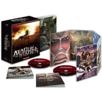 Ataque a los Titanes  Ed Coleccionista Temporada 1 - Blu-Ray