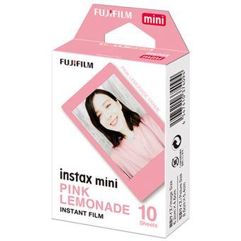 Kit 10 cargas Fujifilm Instax Mini Pink Lemonade