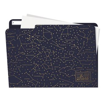 Pack 5 carpetas Legami Estrellas
