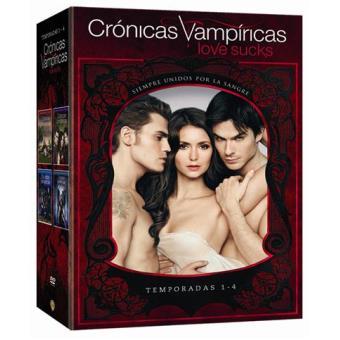 Crónicas VampíricasPack Crónicas vampíricas (Temporadas 1 a 4) - DVD