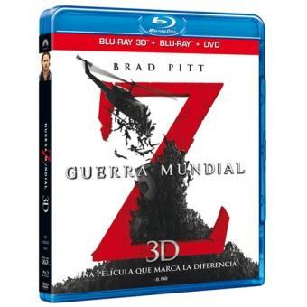 Guerra mundial Z - Blu-Ray 3D + 2D + DVD