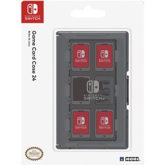 Estuche de Juegos negro Hori Nintendo Switch