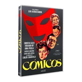 Cómicos - DVD