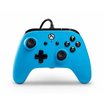 Mando con cable Power A Core azul - Xbox One