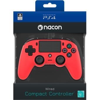 Mando Bigben Nacon Compact PS4/PC Rojo