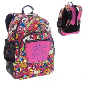 marca famosa precio bajo moda atractiva Mochila Totto Crayoles pandas rosa + neceser + bolsa - -5 ...