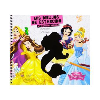 Mis Dibujos de Estarcido: Princesas