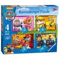 La patrulla canina set 4 Puzzles