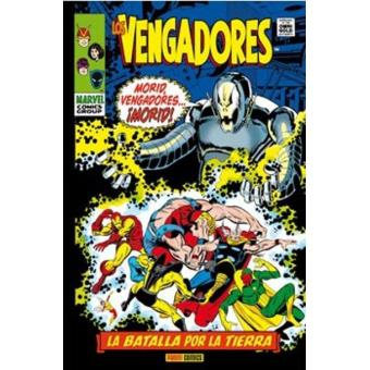 Los Vengadores. La batalla por la Tierra. Marvel Gold