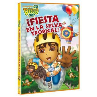Go Diego Go!. Fiesta en la selva tropical - DVD