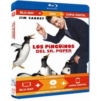 Los pinguinos del Sr.Poper - Blu-Ray + DVD + Copia digital