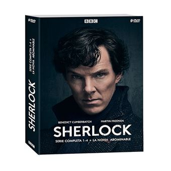 Sherlock  Temporadas 1-4 + La Novia Abominable - DVD