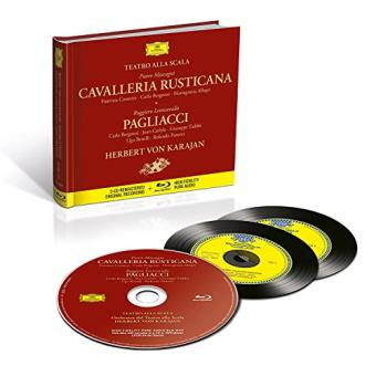 Mascagni: Cavalleria rusticana - 2 CD + Blu-Ray audio