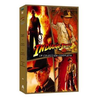 Pack Indiana Jones: La colección completa - DVD