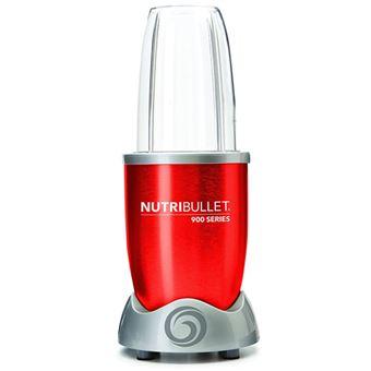 Batidora de vaso NutriBullet 900 w Rojo Metalizado