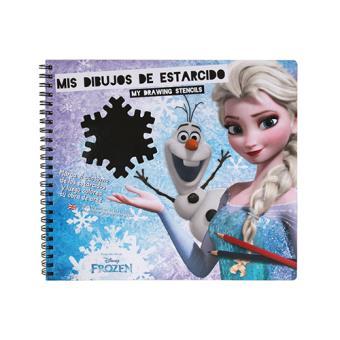 Mis Dibujos de Estarcido: Frozen