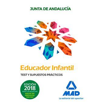 Educadores Infantiles - Personal Laboral de la Junta de Andalucía - Test y Supuestos Prácticos