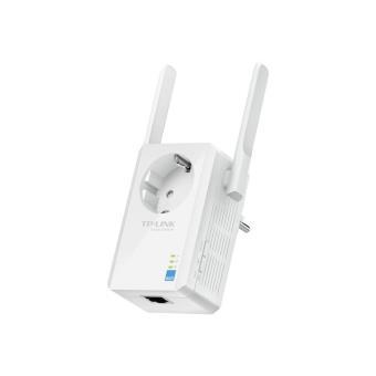 Range extender Tplink Extensor de Rango Wi-Fi a 300 Mbps con enchufe adicional
