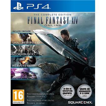 Final Fantasy XIV Shadowbringers Edición Completa PS4