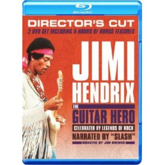 Jimi Hendrix: The Guitar Hero (Formato Blu-Ray)